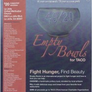 Empty Bowls for TACO