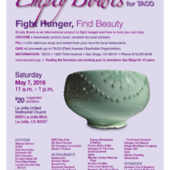 Empty Bowls for TACO 2016
